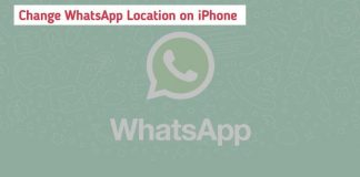 Fake Location on WhatsApp