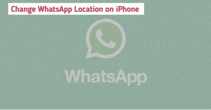 Fake Location on WhatsApp