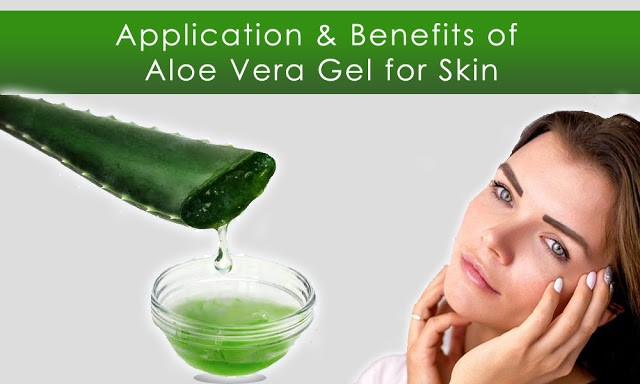 use of aloe vera gel