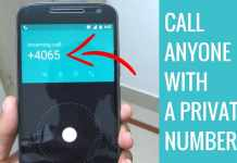 how to make private number