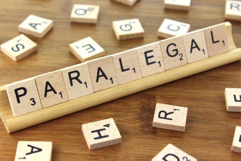 certificate paralegal credit
