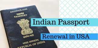 indian passport renewal from usa