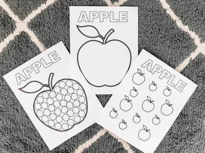 printable activities for toddlers