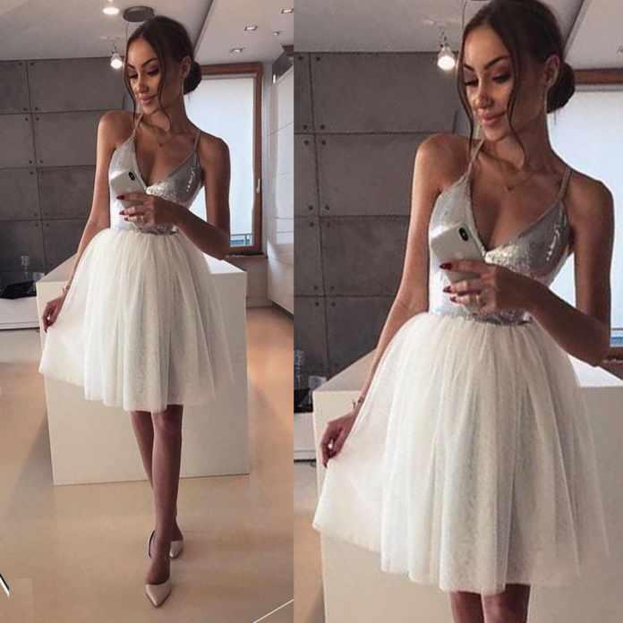 Short graduation dresses
