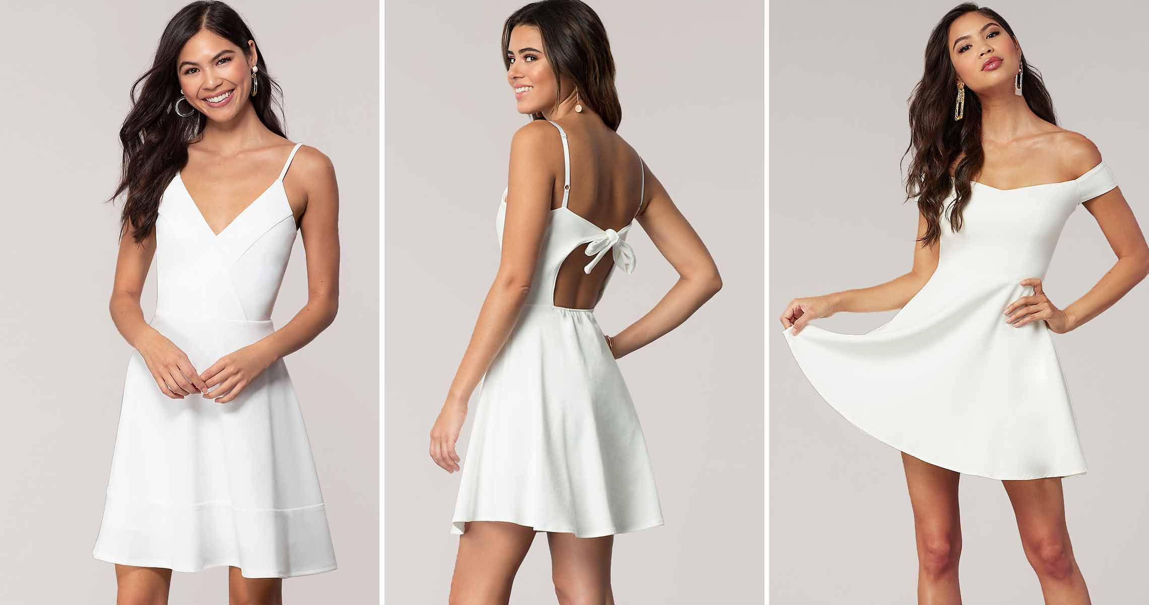 White graduation dresses 18 Get Yourself Ready