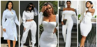 all white outfit for ladies