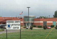 cherokee county detention center